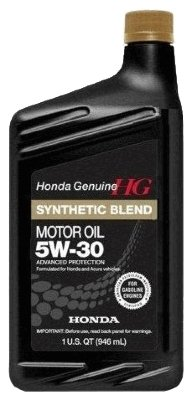 Моторное масло Honda Synthetic Blend 5W30 SN 0.946 л